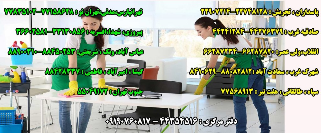 شرکت نظافتی نگین پاکان امیر